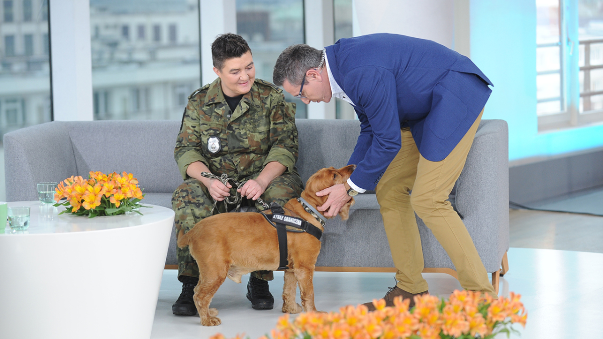 Monika Banaś, Andrzej Sołtysik i pies Dodi